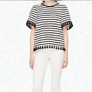 Kate Spade Tassel T shirt